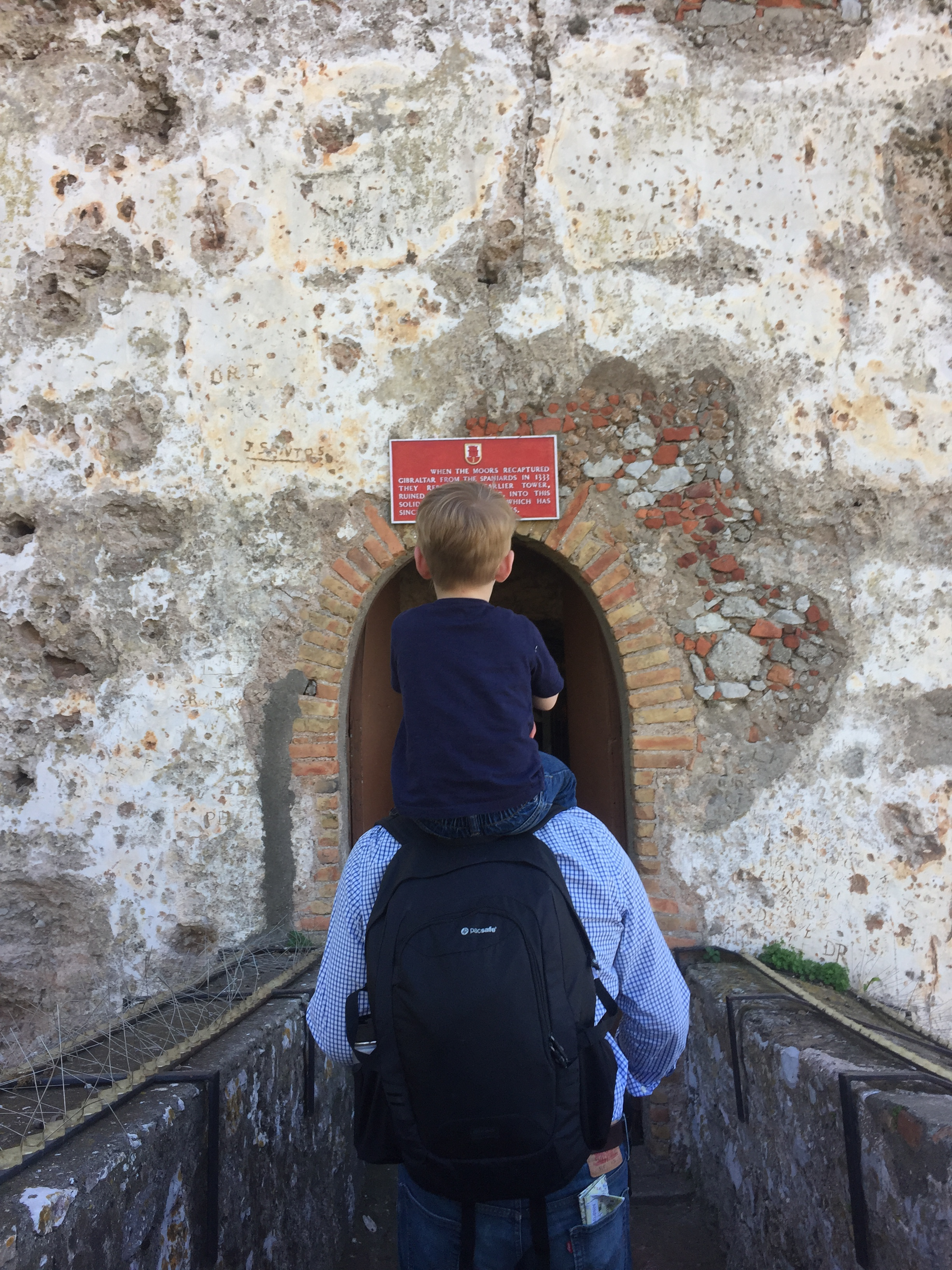 Entering the Moorish Castle