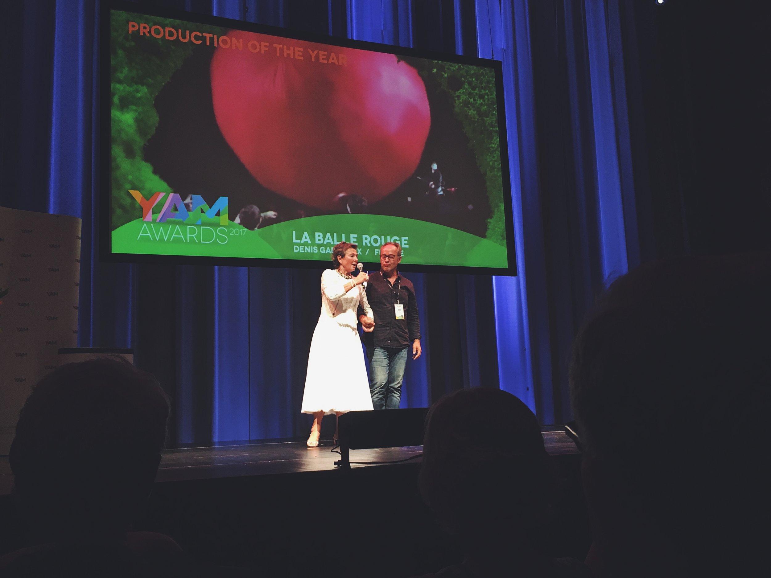 La Balle Rouge on vuoden produktio vuosimallia 2017. Kuva: Konserttikeskus