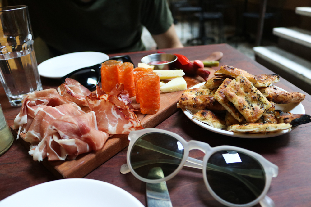 Salumi E Formaggi , Served with housemade pickles, marmalade to share