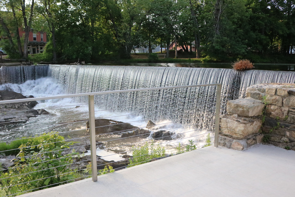 The view of Beacon Falls