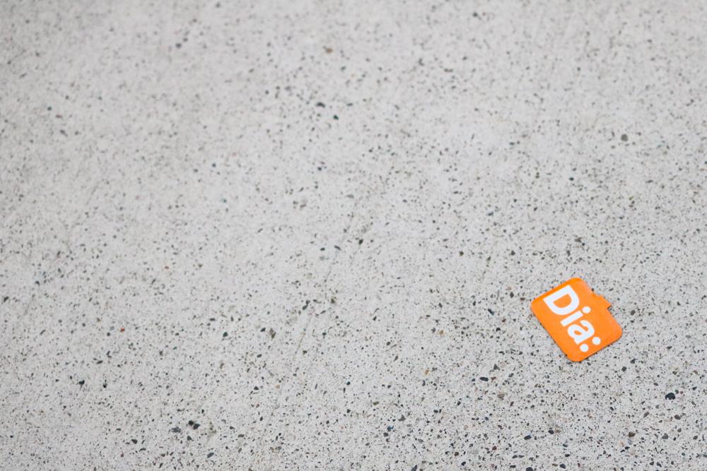 Abandoned ticket to the  Dia:Beacon