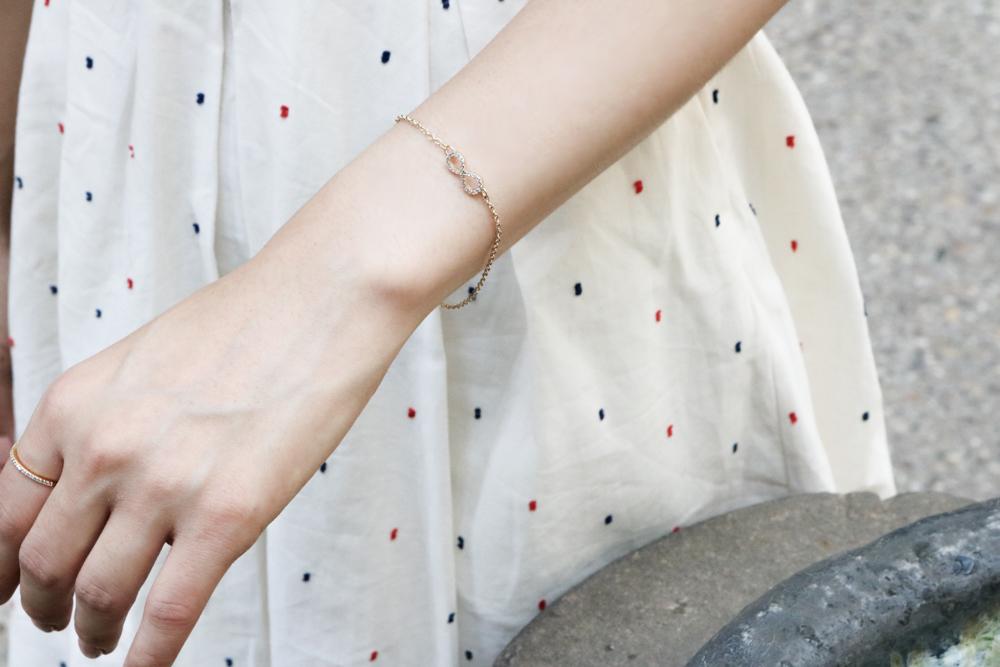 Pavé Infinity Bracelet- Sophie Harper