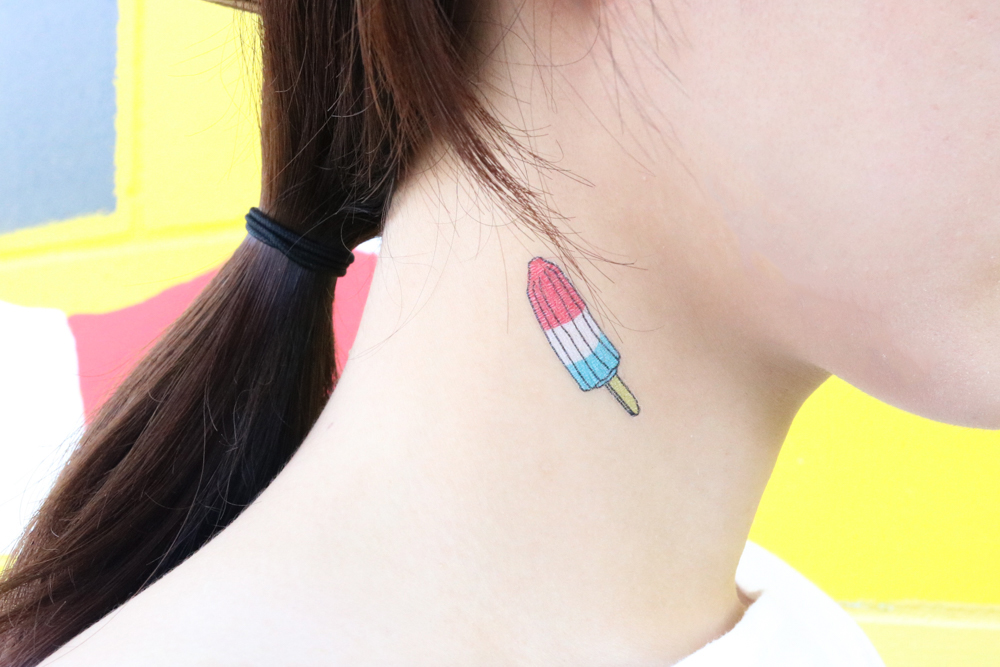 Tattly Popsicles  - Temporary Tatoo