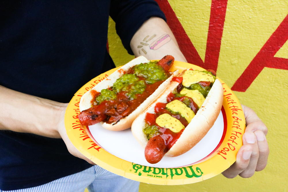 Nathan's Famous Original Hot Dogs