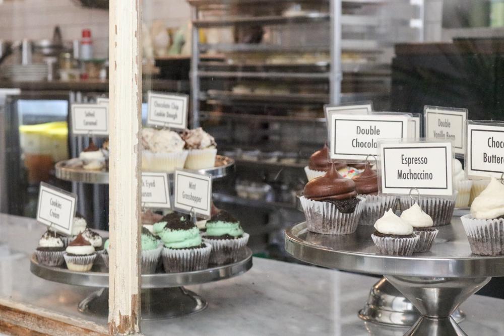 Cupcakes at  Sweethaus