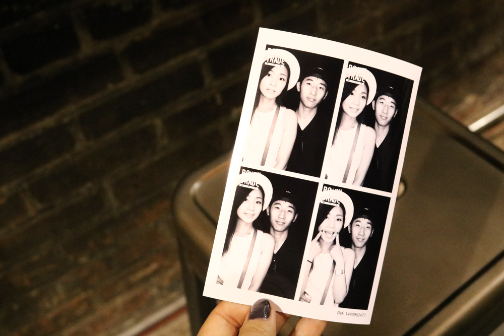 Photo Booth at  Rough Trade