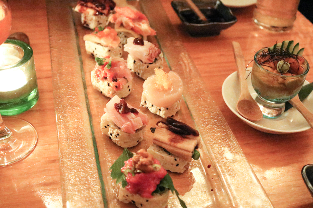 Makimono Omakase, A Tasting of All Nine Large Makimono - Rolls