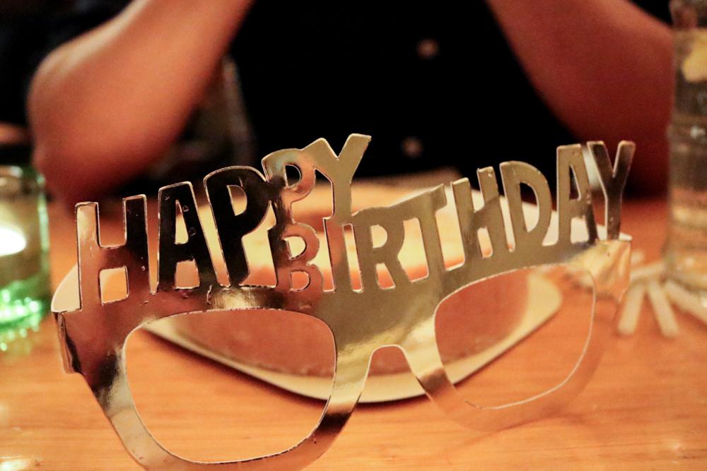 Birthday Party Glasses  for birthday boy