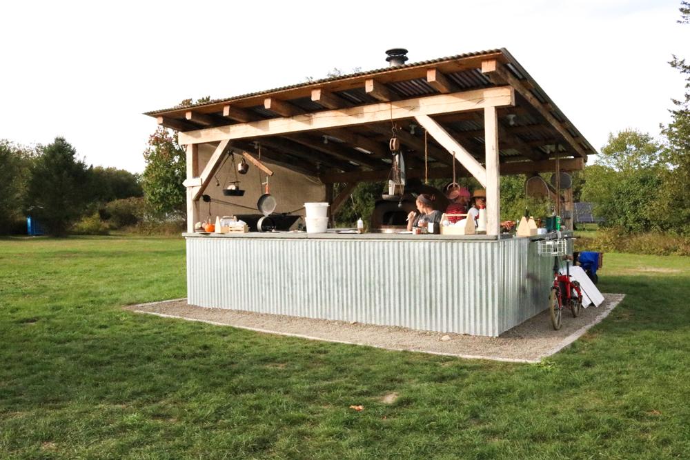 The brick-oven pizza hut