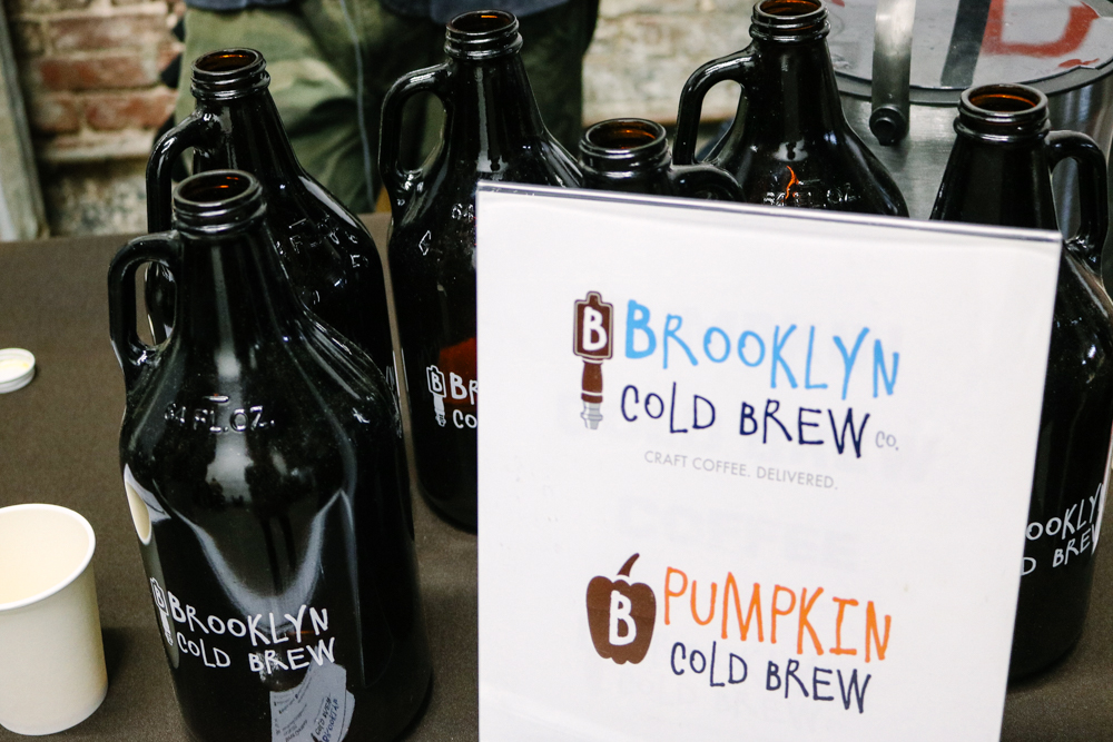 Brooklyn Cold Brew ,  Pumpkin cold brew was pretty interesting!