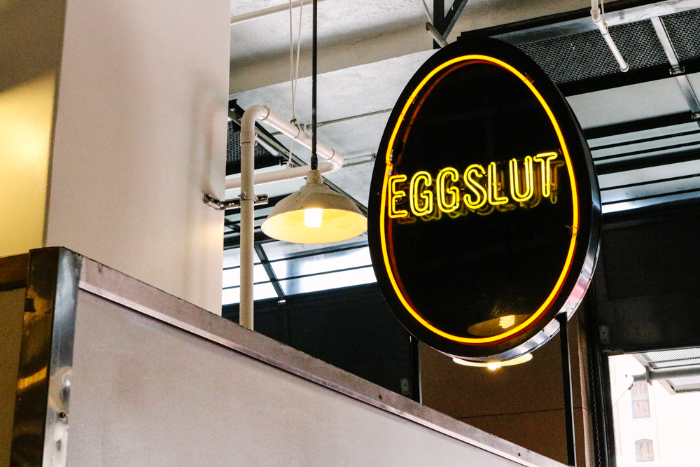 Eggslut at  Grand Central Market