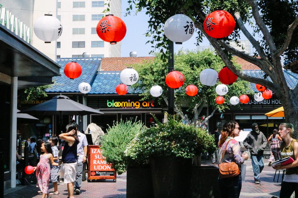 Little Tokyo  in DTLA