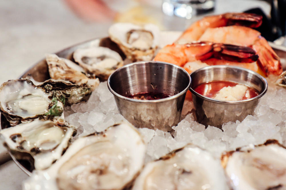 Oyster Selections & Shrimp Cocktail