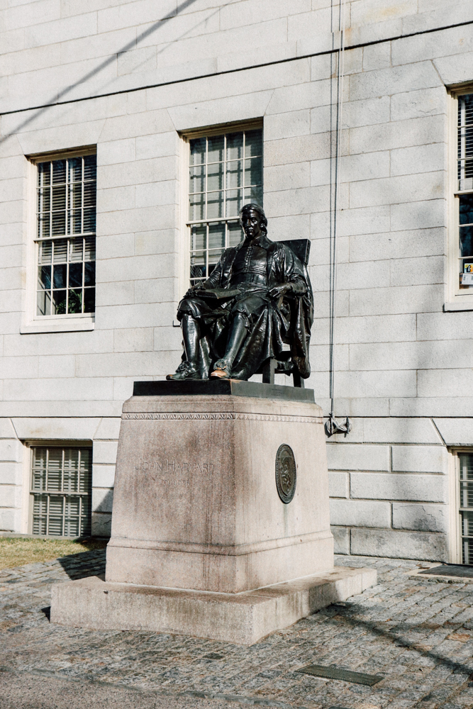 The Statue of John Harvard
