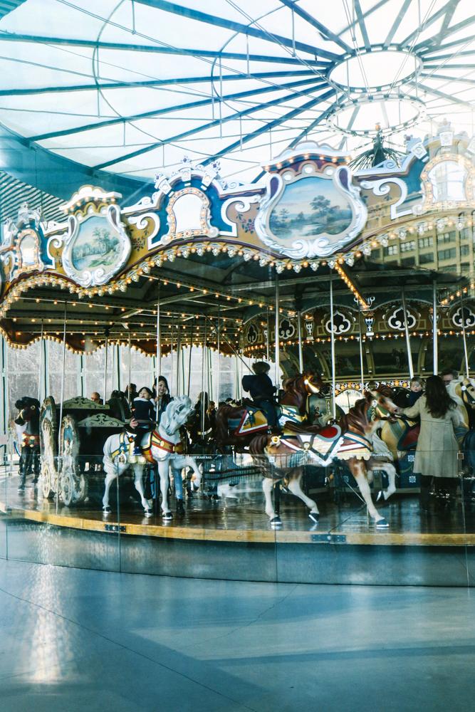 Jane's Carousel  at DUMBO, Brooklyn