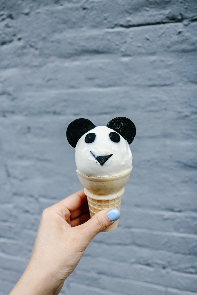 Panda Ice Cream at  Morgenstern's  #KanyeIceCreamWeek