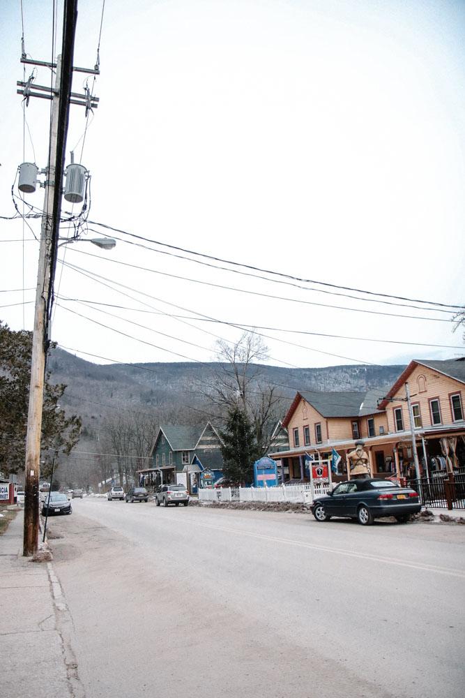 The town of Phoenicia, NY