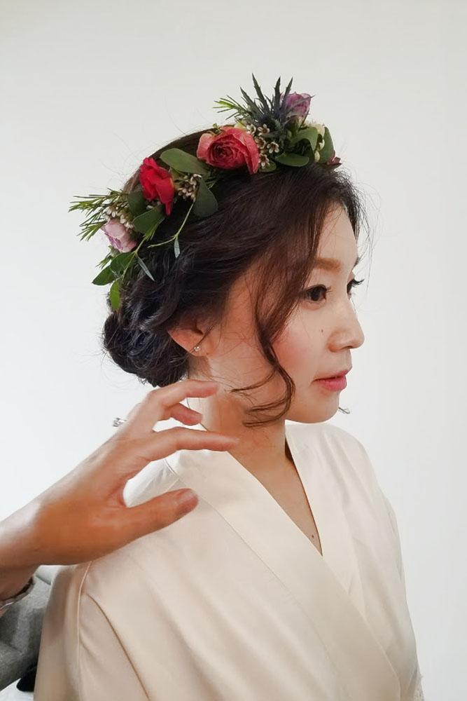Hair & Make up by  EJ Kim