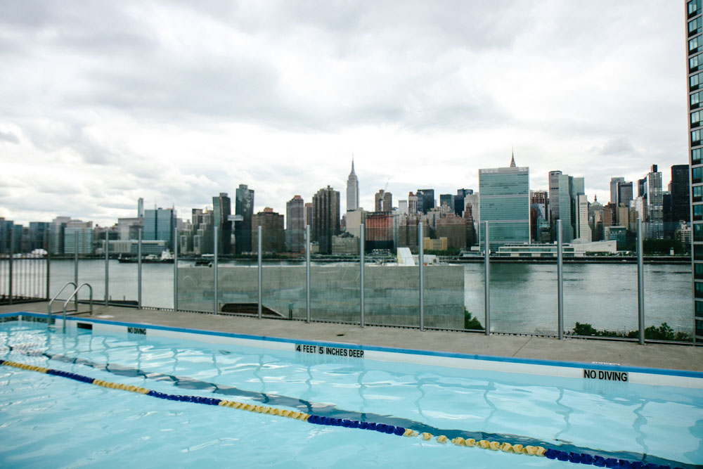 Our Building's Pool opened on Memorial Day Weekend!