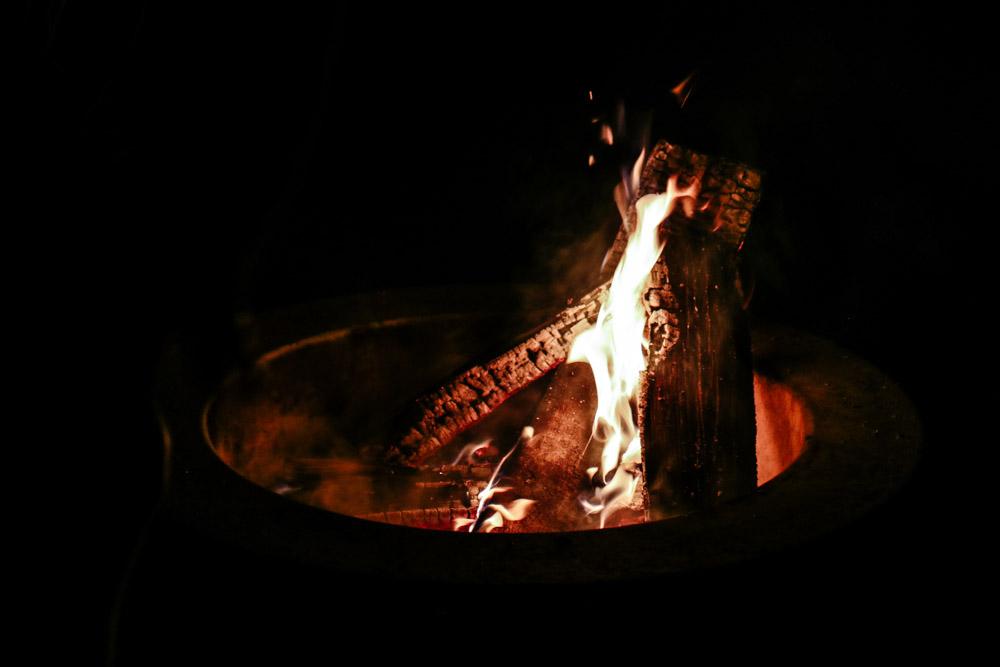 Campfire all night long