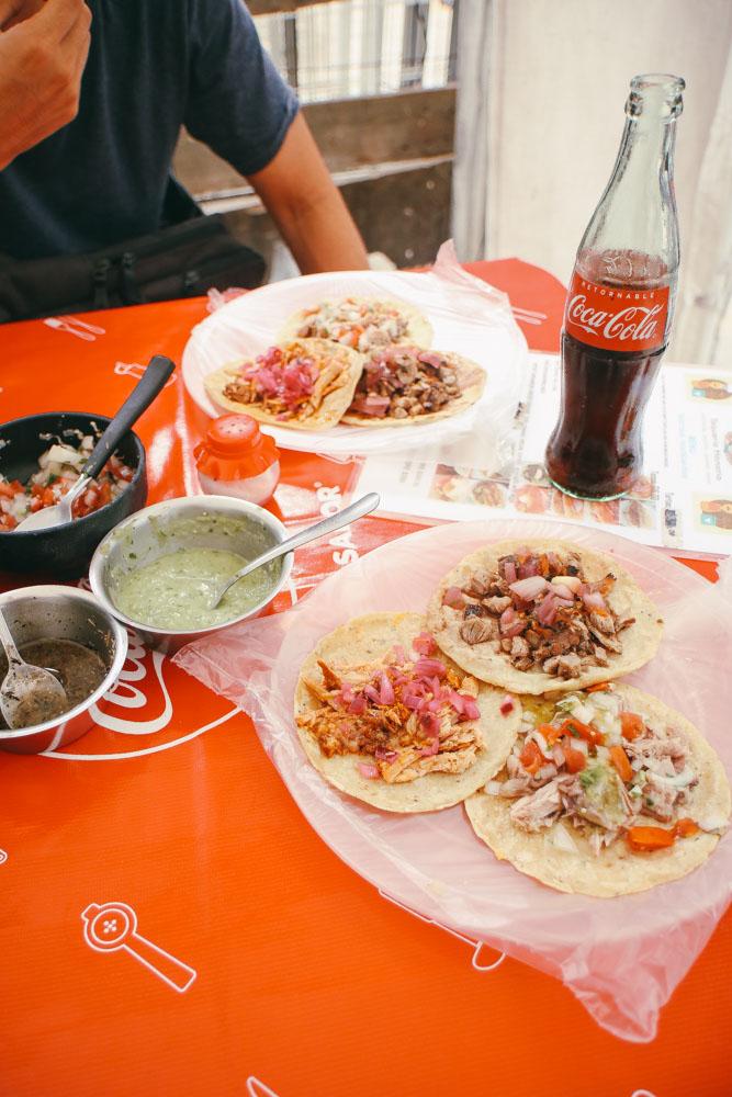 First Local Taco at  Taqueria Honorio