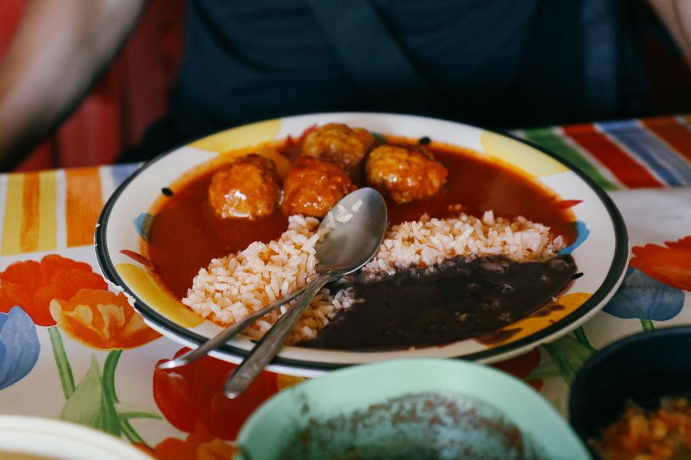 Albondigas de Pollo (Chicken Meatball)