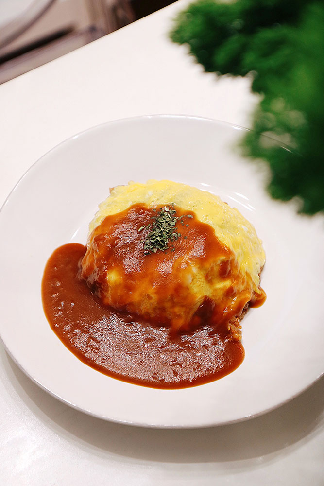 Homemade Omurice