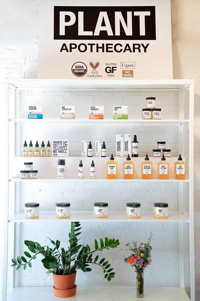 A visit to  PLANT Apothecary  Studio in Greenpoint, Brooklyn
