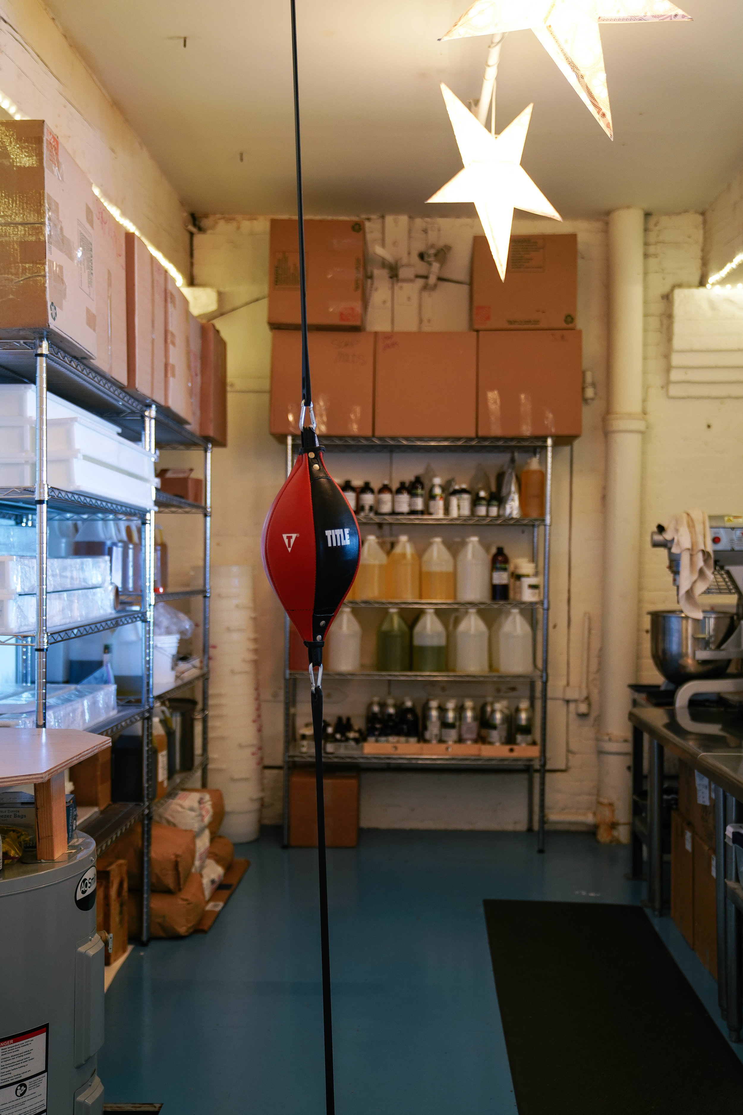 "They call this their ""Kitchen"" area, where they use edible ingredients apply into their products."