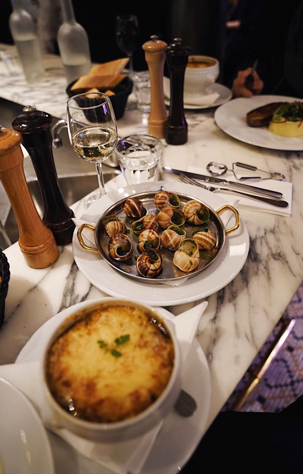 A perfect dinner at  Le Comptoir de La Gastronomie