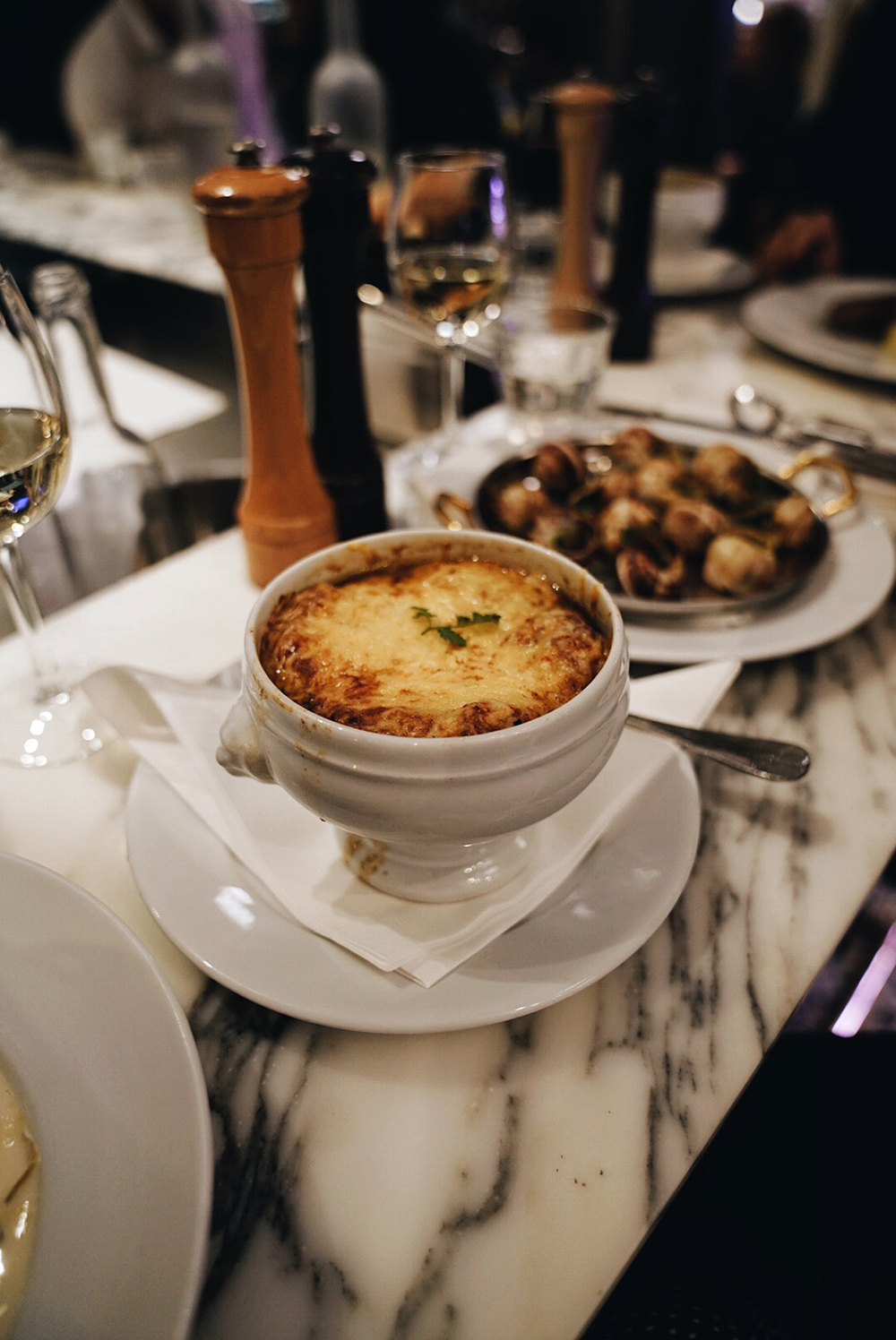 The Classic French Onion Soup