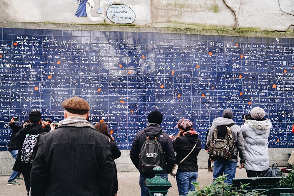 Wall of Love,  Le mur des je t'aime