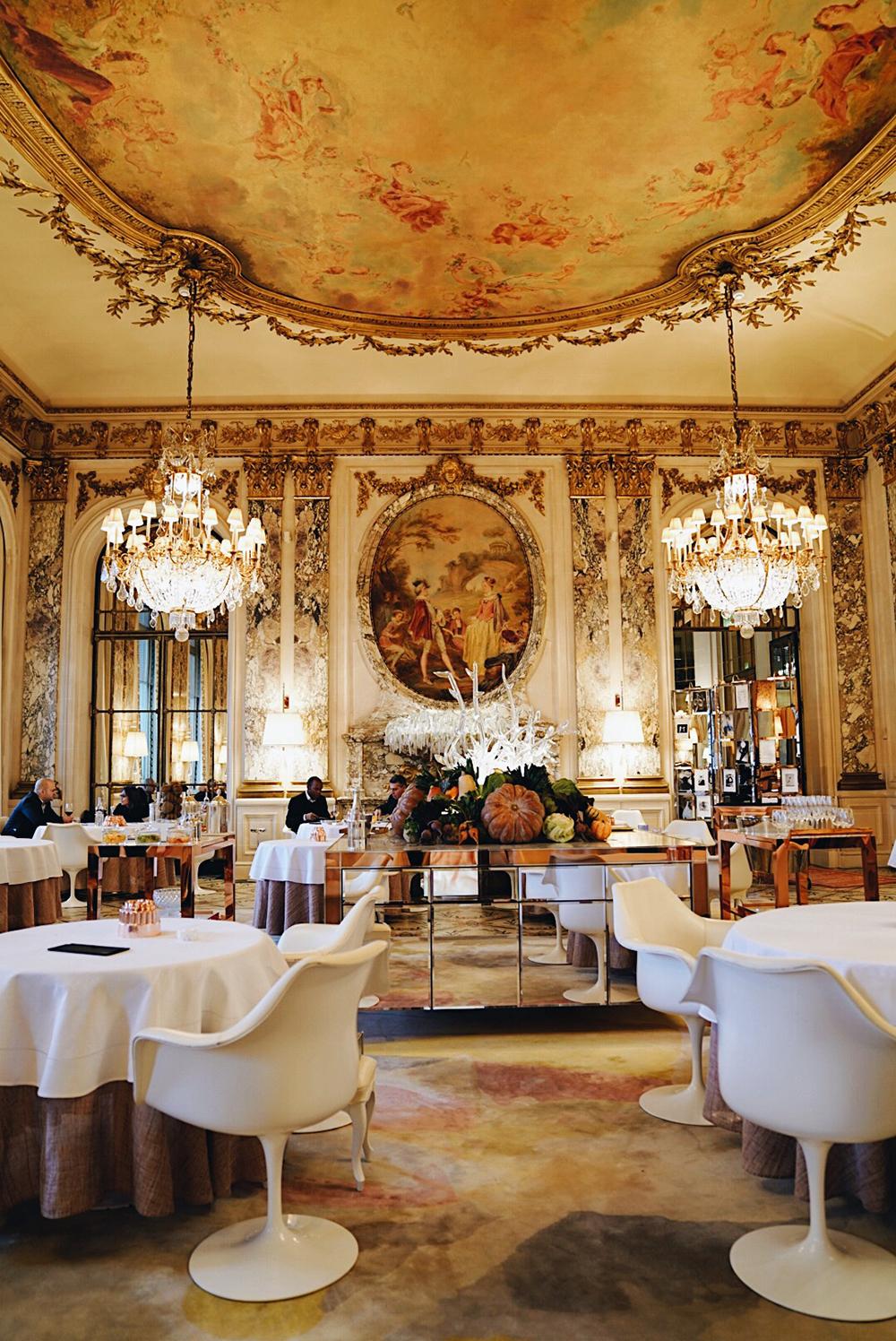 Lunch at  Restaurant Le Meurice Alain Ducasse