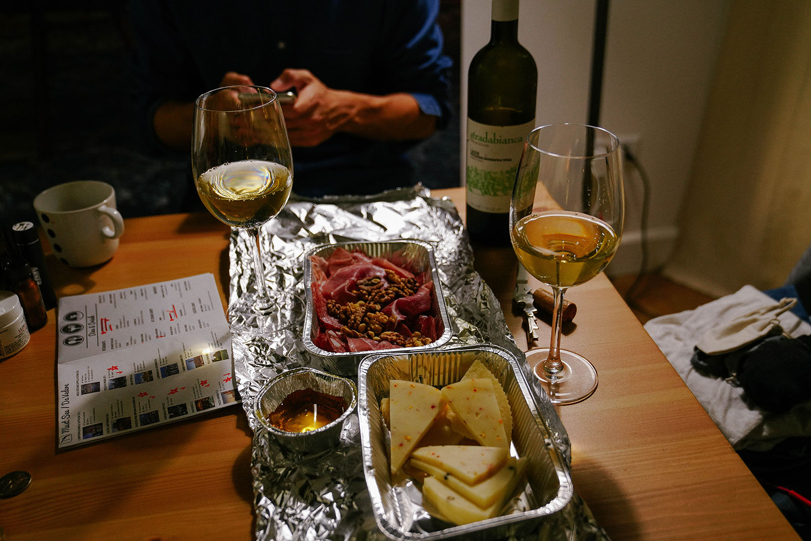 The BEST Meat & Cheese Plate (Charcuterie) Take Away we had in our Airbnb.
