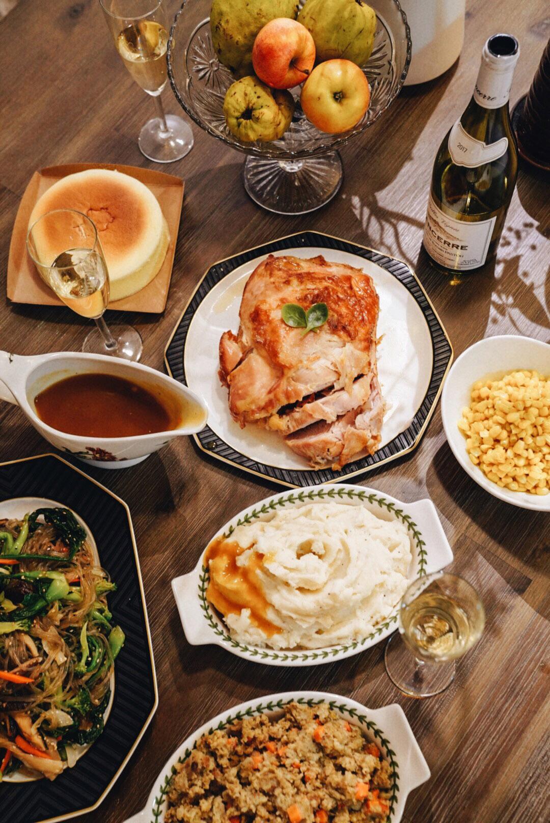 Thanksgiving at Mama Kong's House