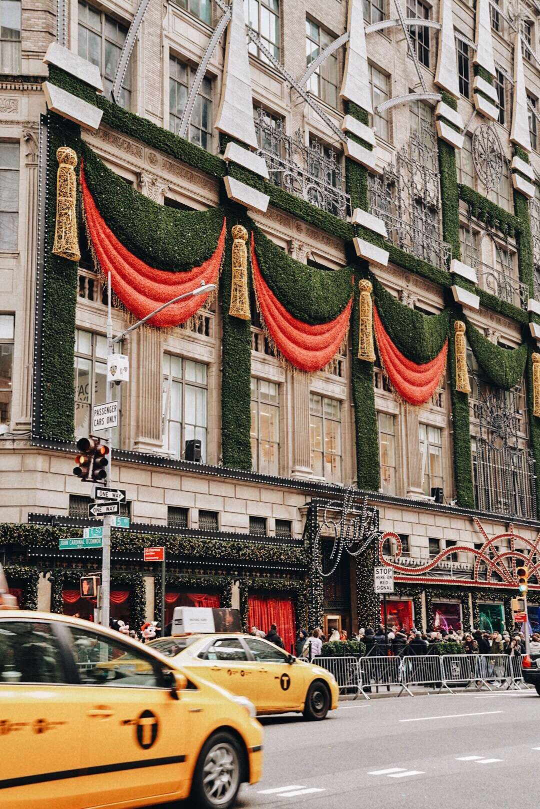 Saks Fifth Avenue  Flagship with Holiday Decor