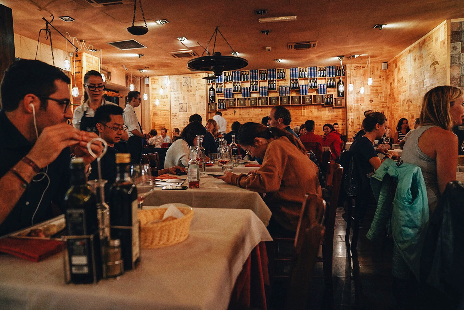 Dinner at  Trattoria dall'Oste