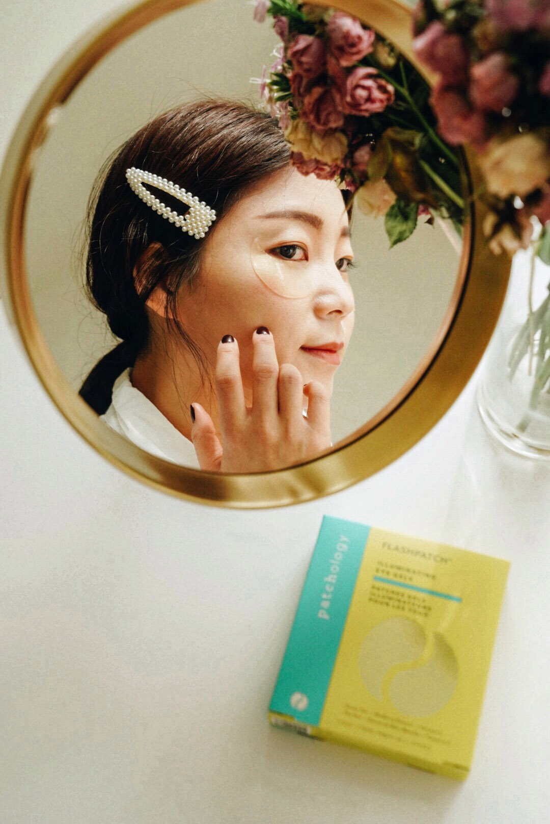 "Selfcare with  Patchology , You can get 20% off on Illuminating Eye Gels with code ""AMBASSADHER20""."