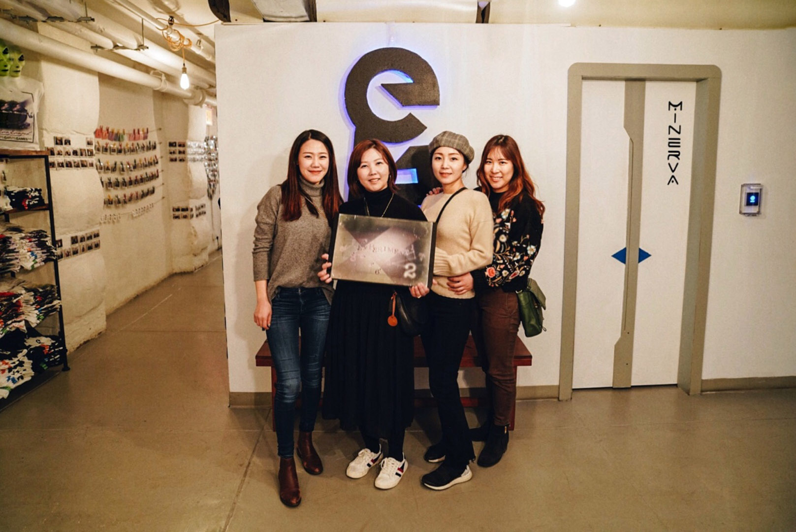 First time playing Escape the Room at  Escape Games NYC , and we escaped!
