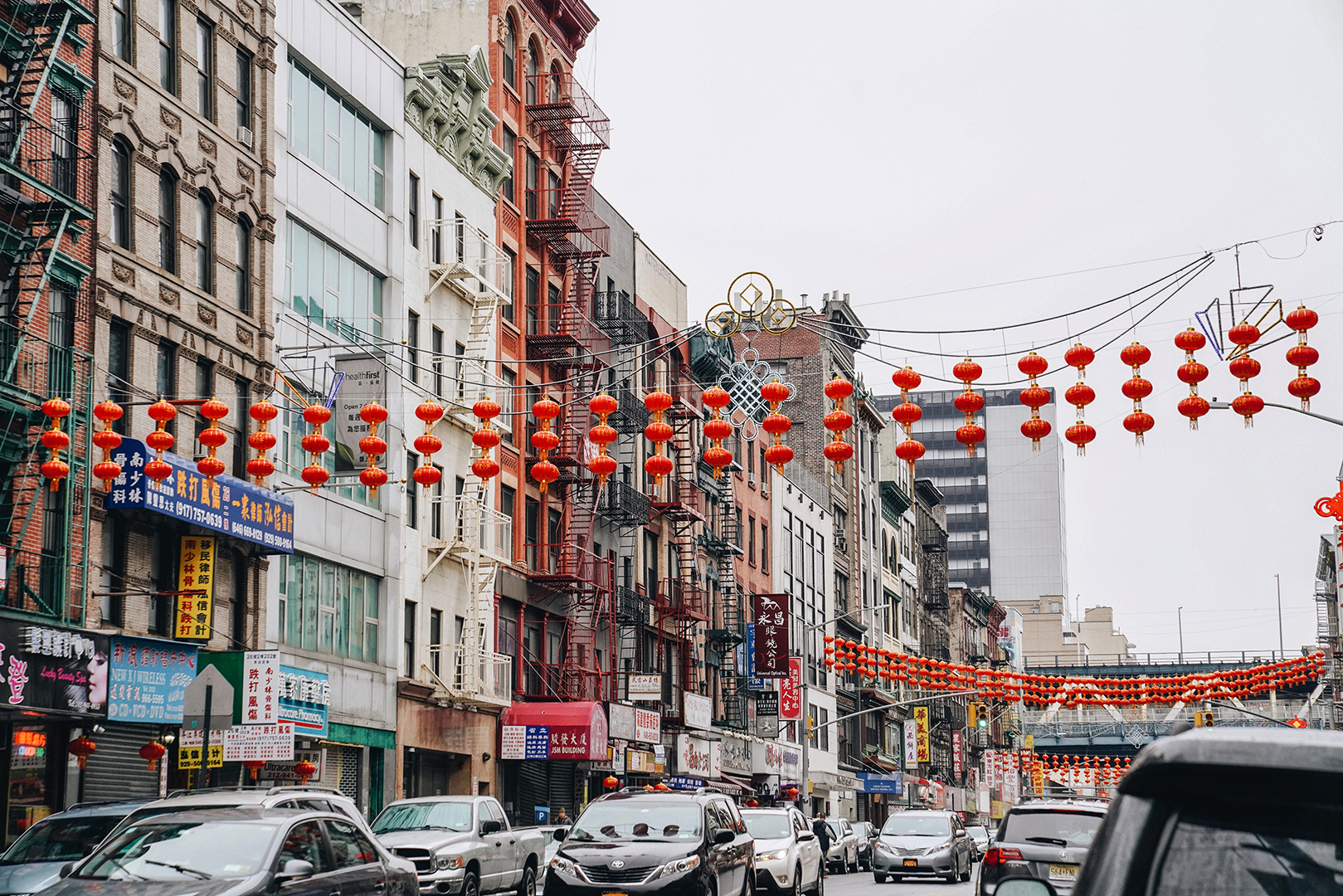 Chinatown, New York.