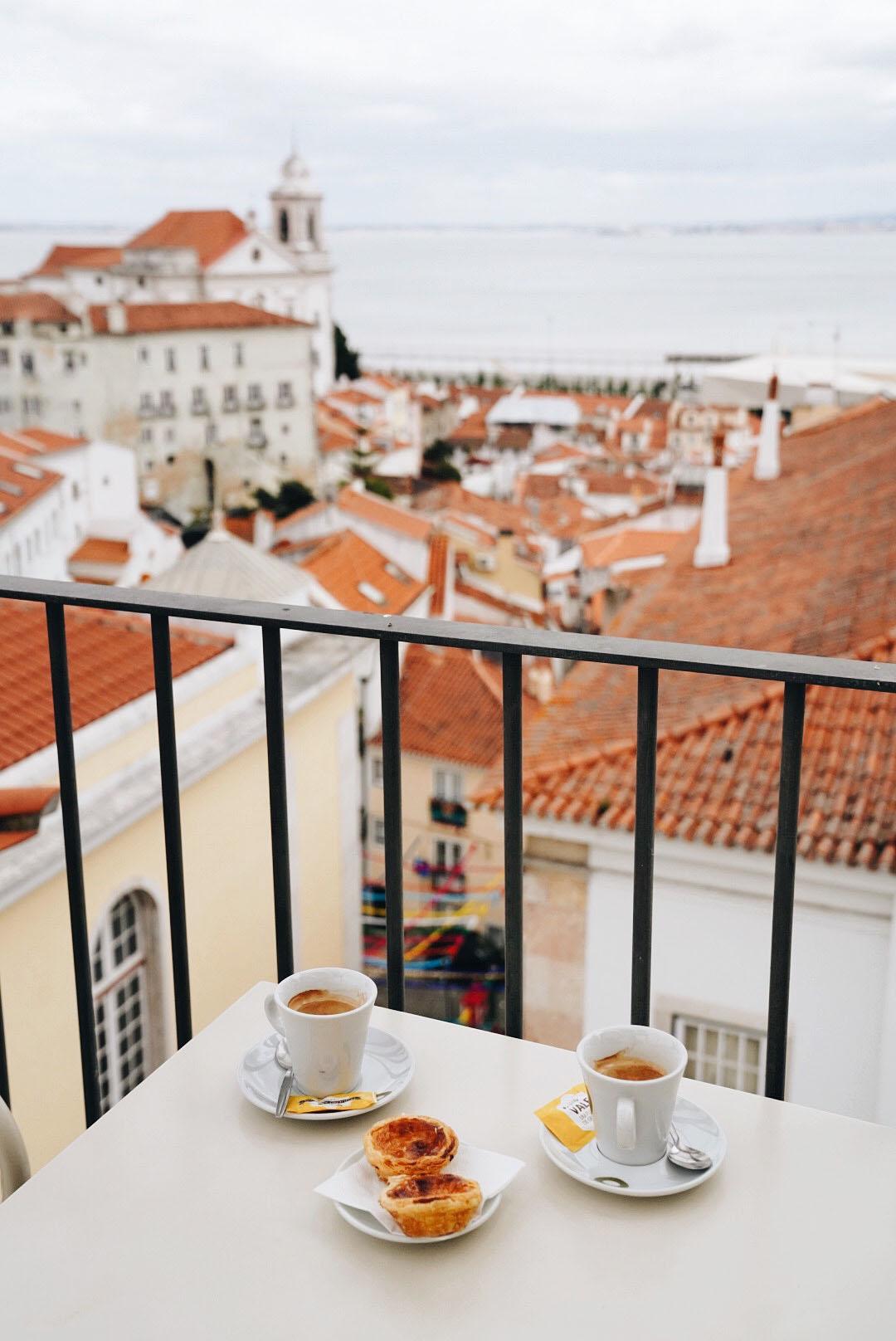 Coffee Break at  Portas Do Sol Rooftop Bar .