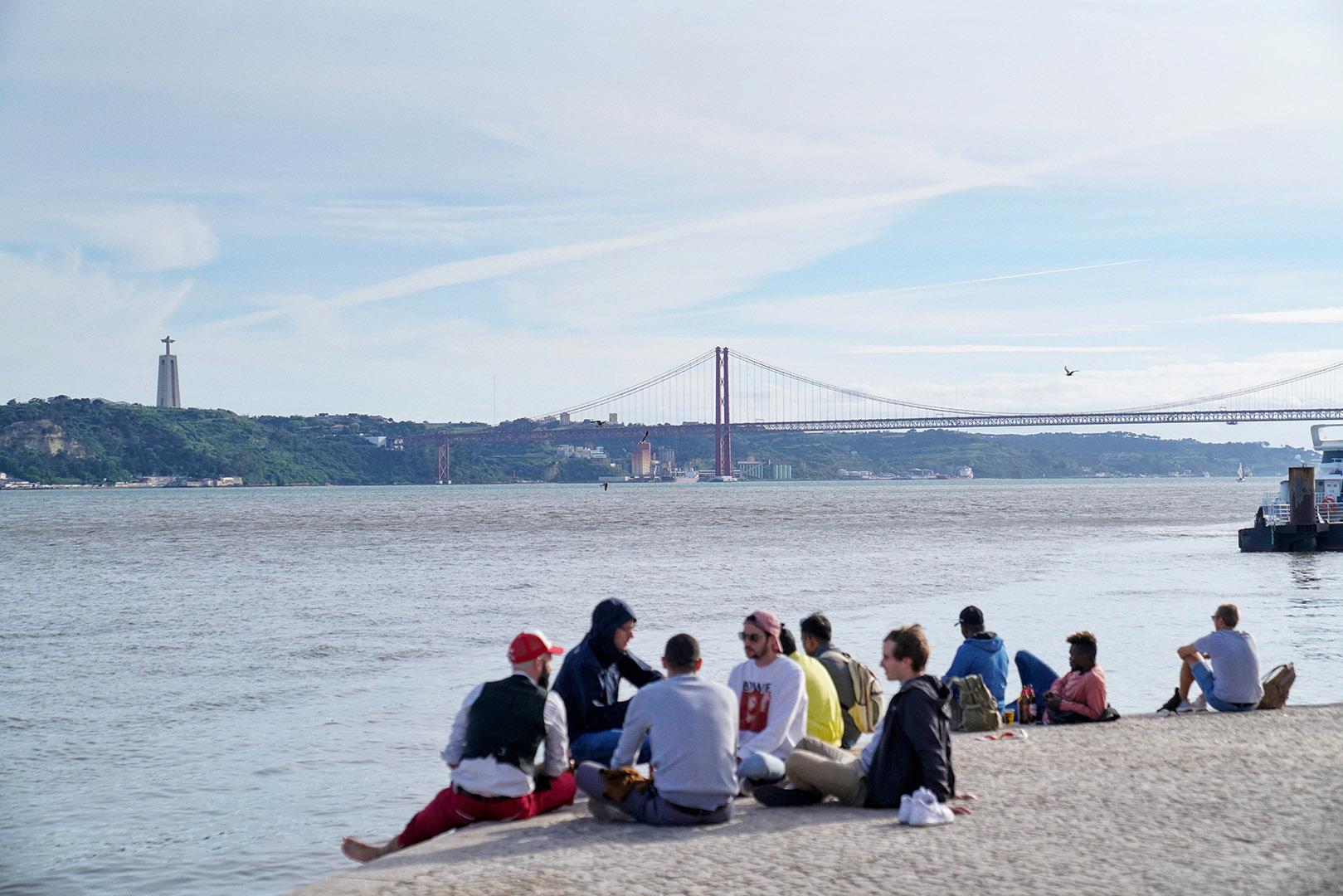 View of  Ponte 25 de Abril