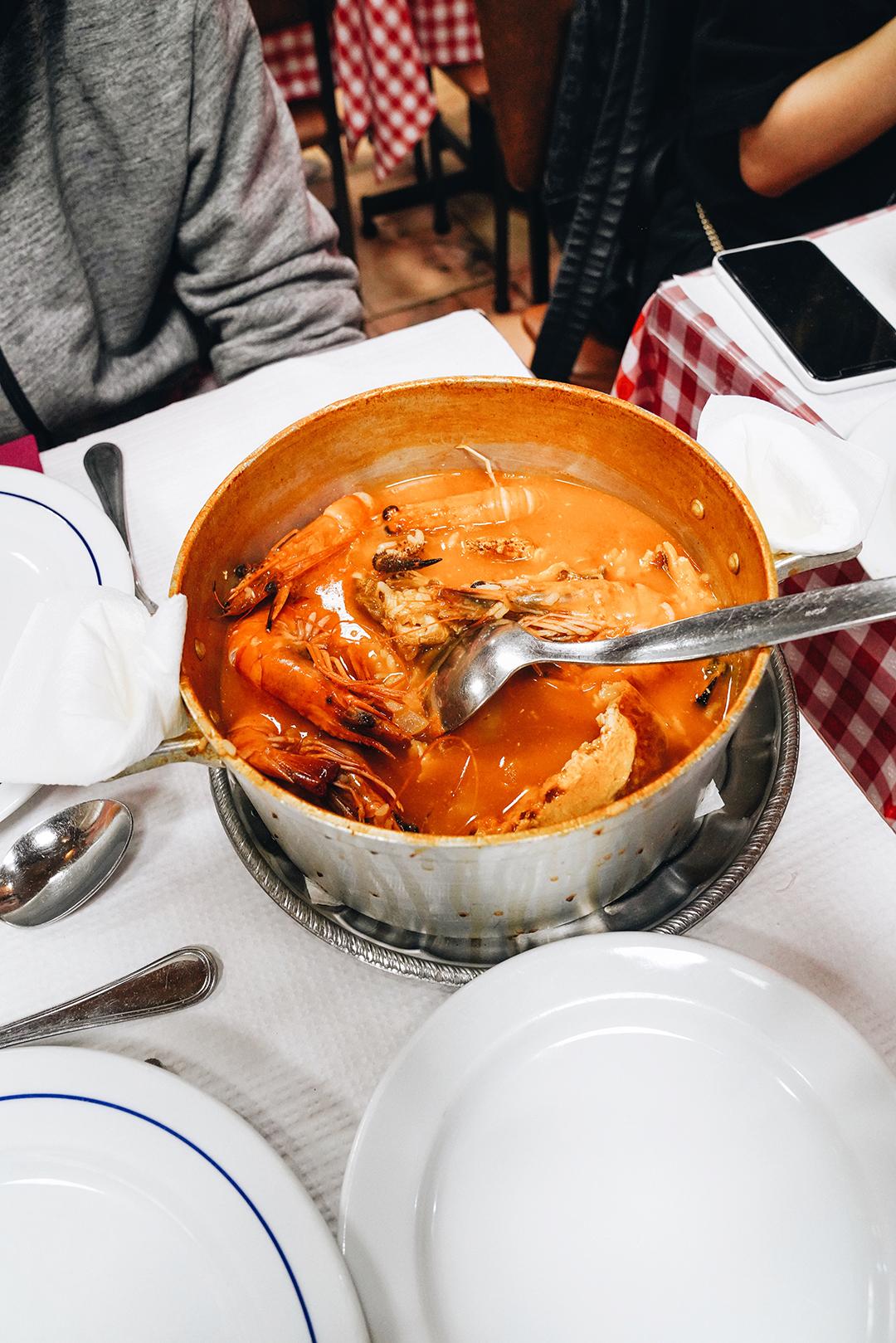 Seafood rice (해물밥)