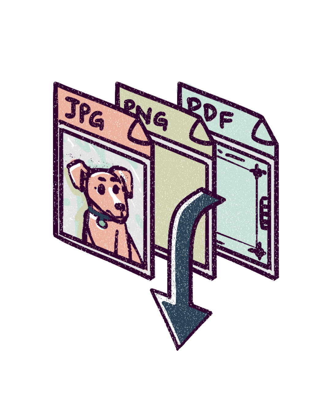 """4.Digital files - Once the painting is finished, I email you high-resolution files that are 100% print-ready! These include a 300dpi JPG, PNG and PDF (the PDF includes a 0.25"""" bleed)."""