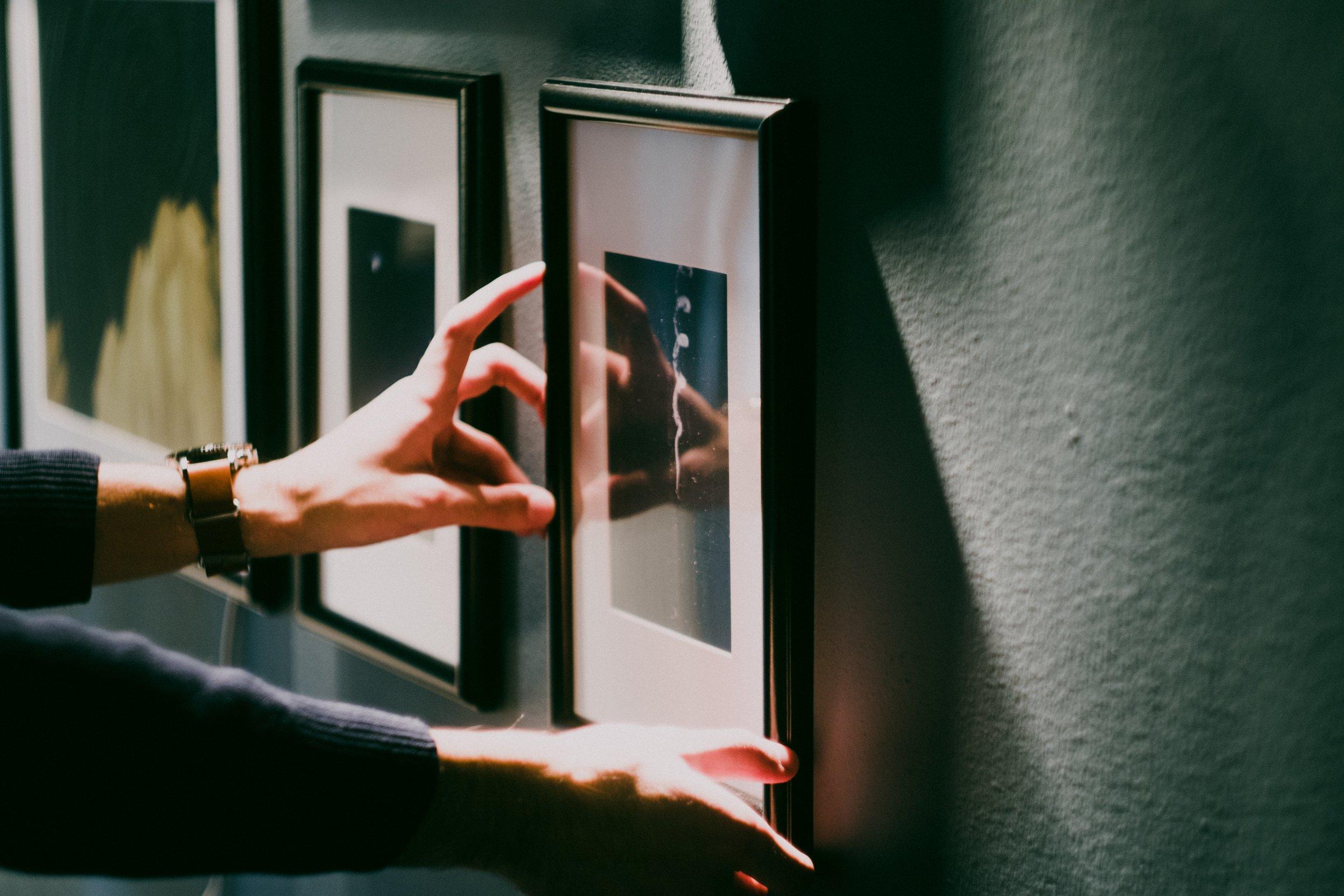 Step 6: - Choosing Your Frame & Mat