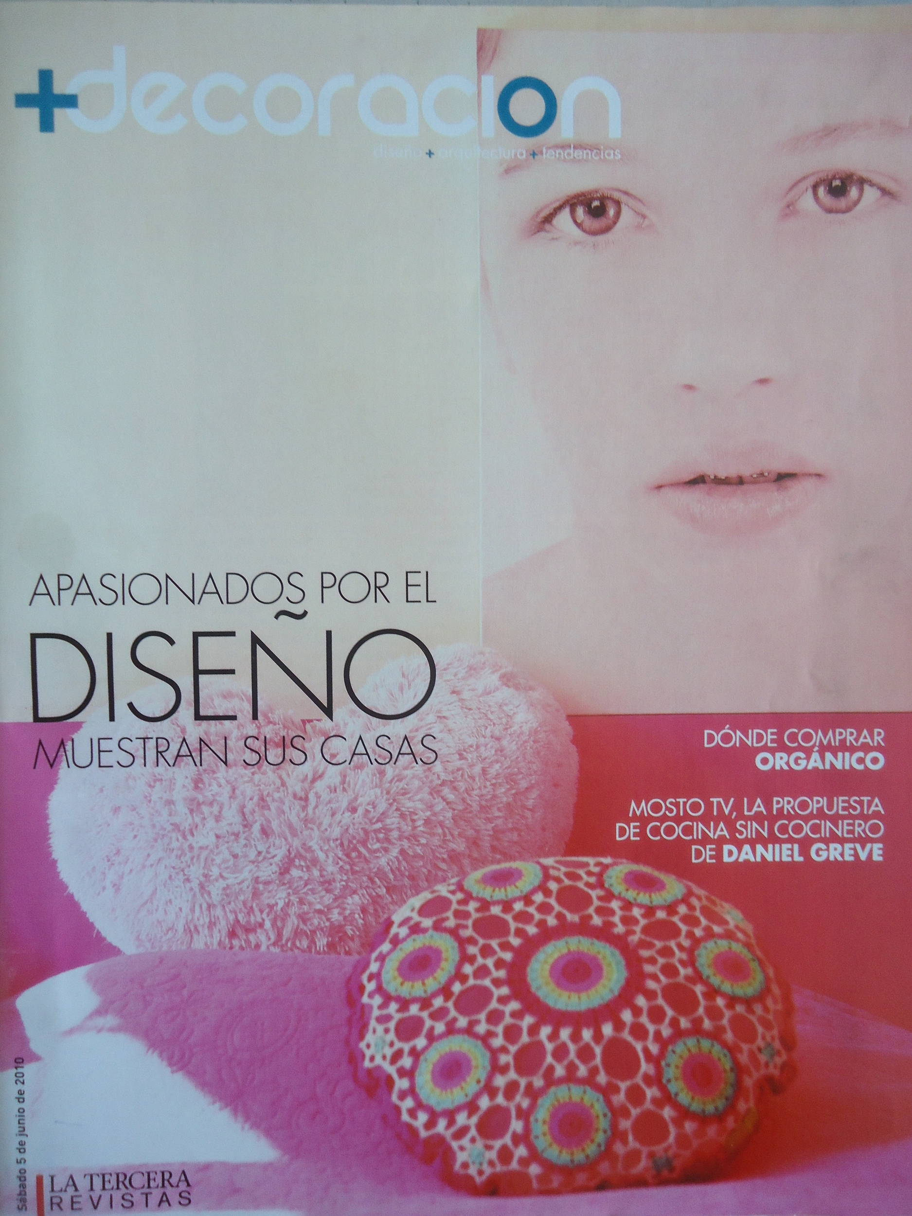 Micky Hurley - Article in Diseno magazine