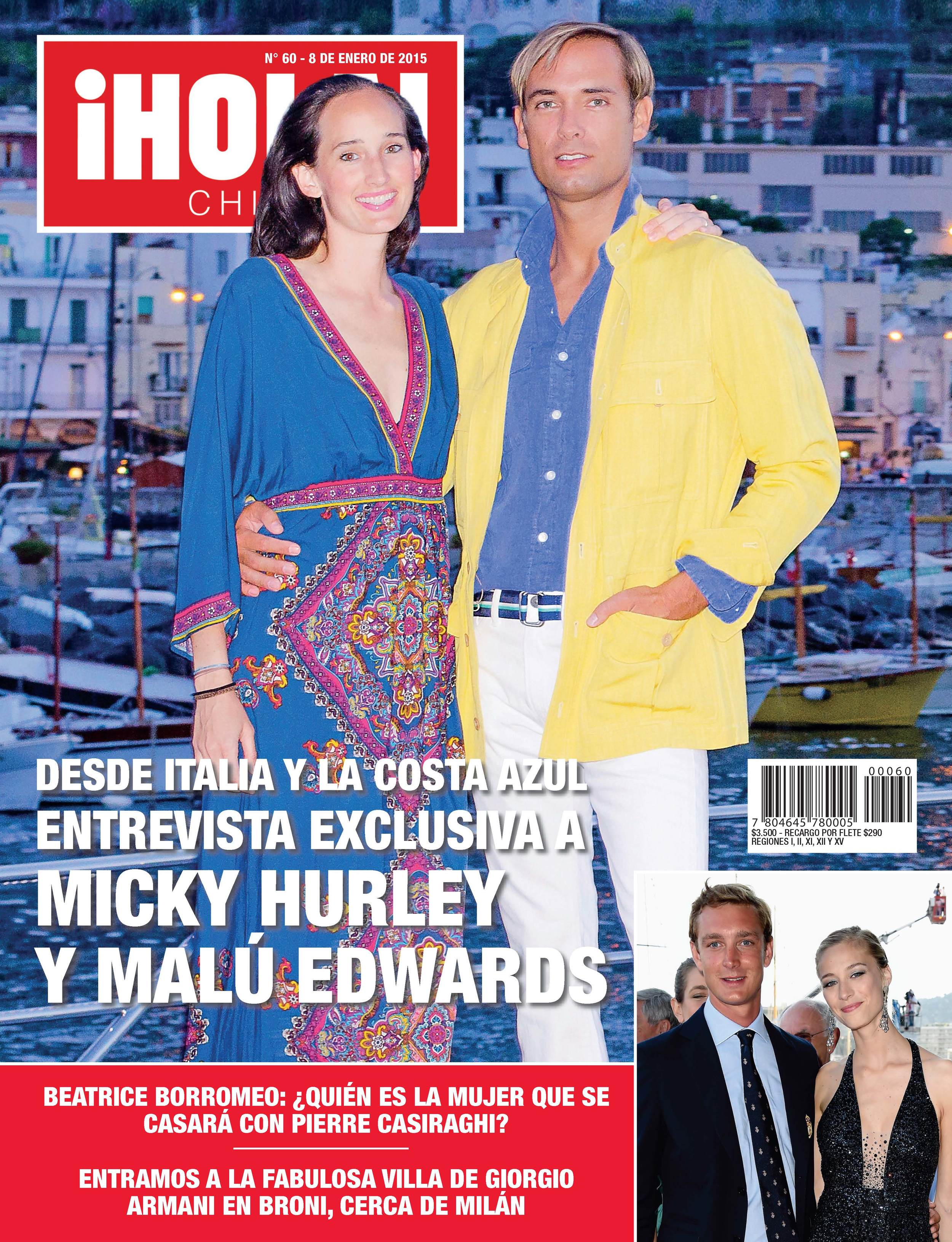 Micky Hurley Hola Chile Magazine Cover 3