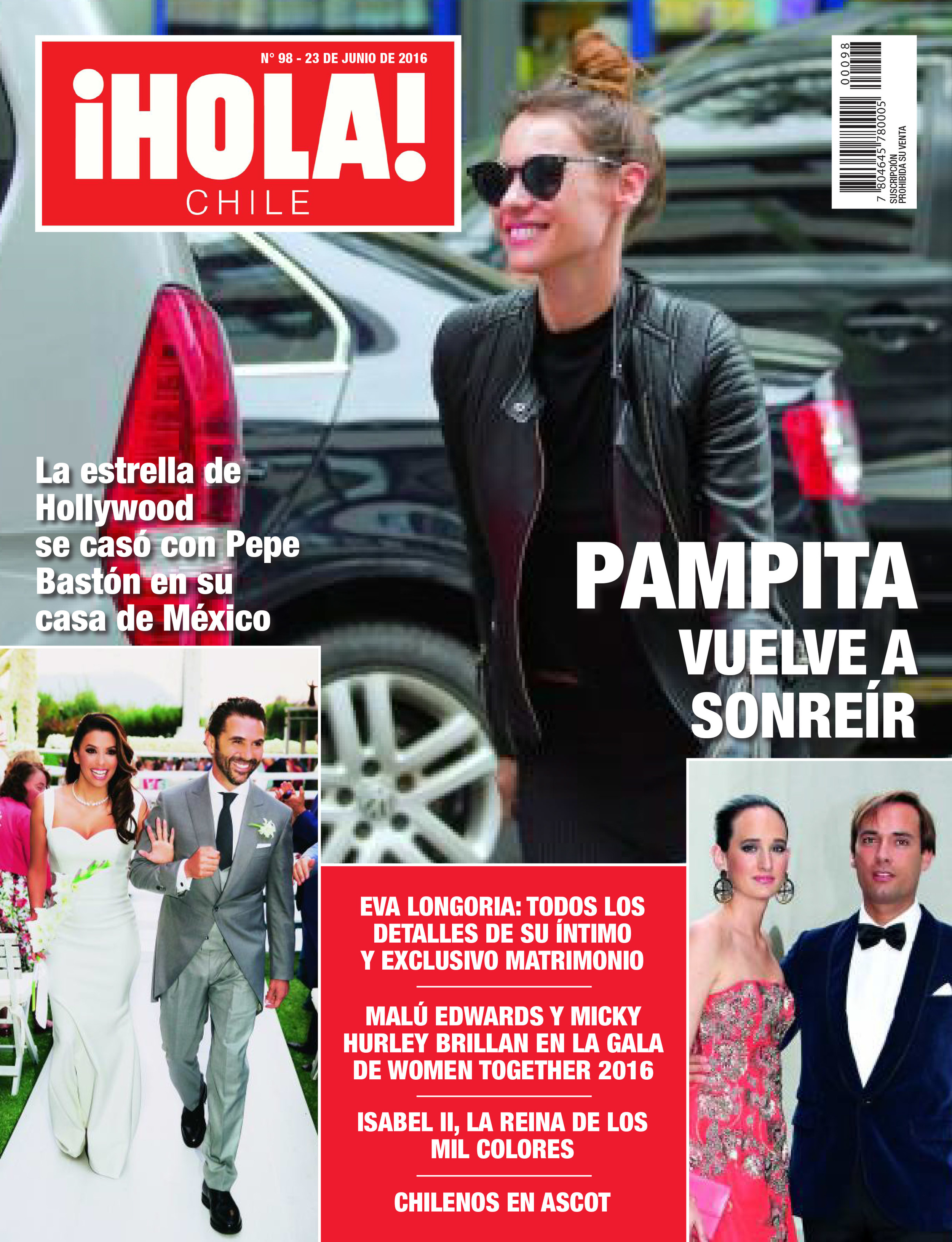 Micky Hurley Hola Chile Magazine Cover 2