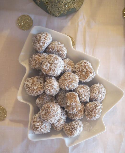 meg-made: Gluten Free Gingerbread Rumballs