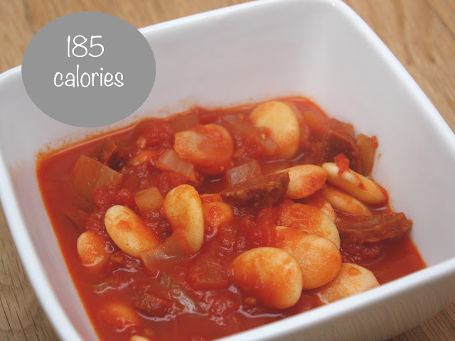 meg-made: Fast Diet recipe ideas: Butterbean and chorizo soup